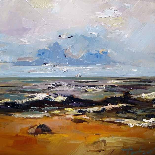 """""""Die See"""" original fine art by Jurij Frey"""