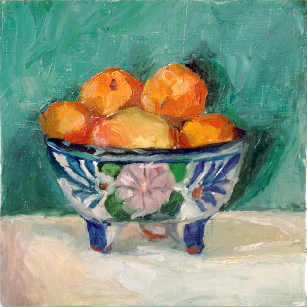 """""""Kerrie's Bowl"""" original fine art by Myriam Kin-Yee"""