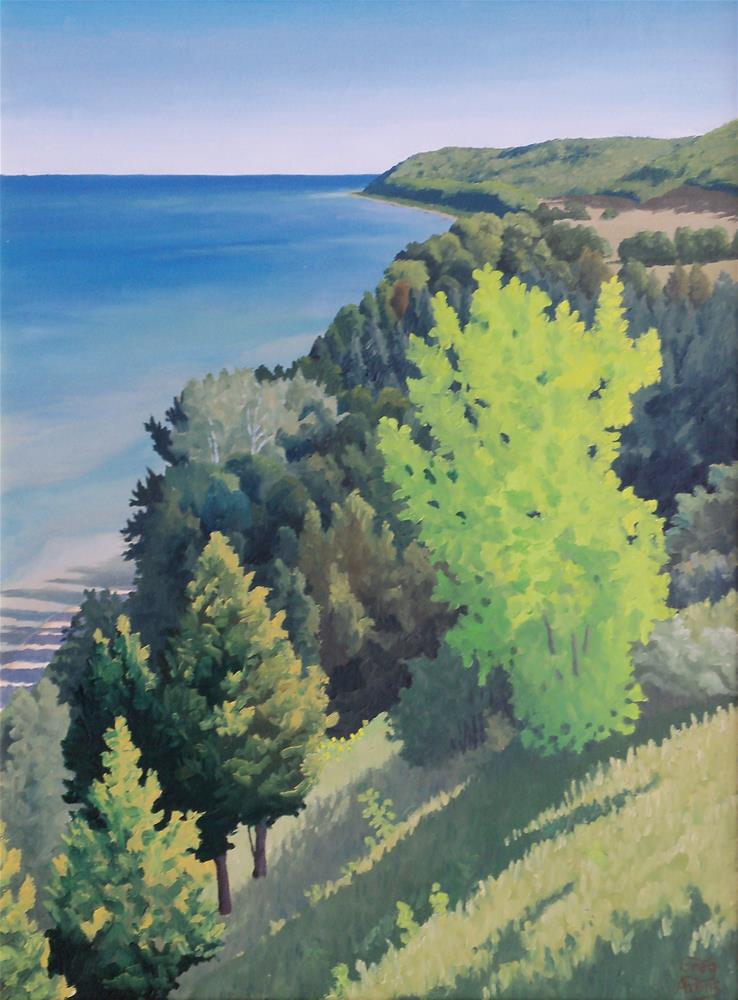 """Port Oneida View"" original fine art by Greg Arens"
