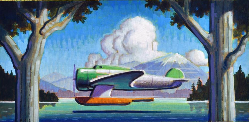 """Hideaway"" original fine art by Robert LaDuke"
