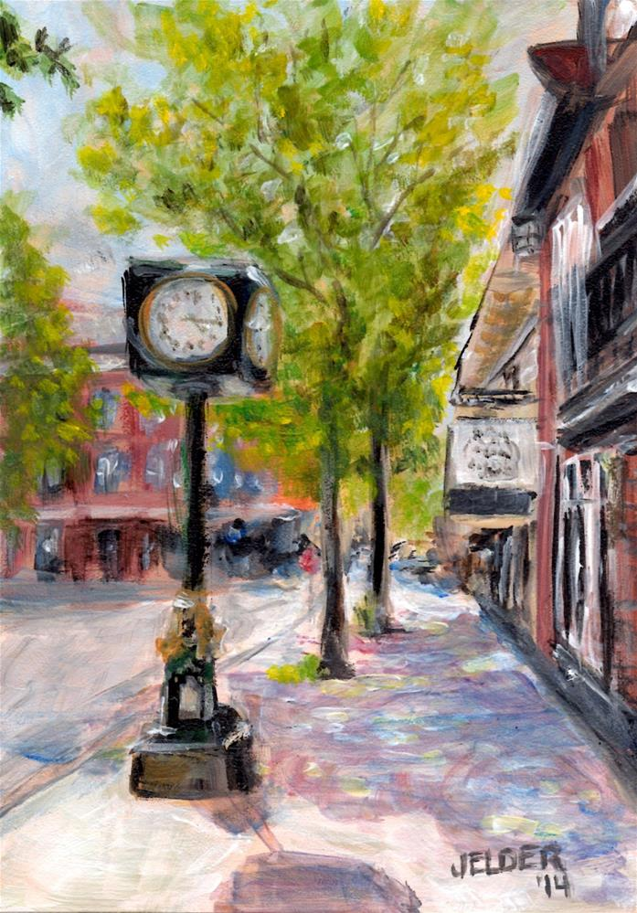 """Harris Avenue, B'ham No. 13"" original fine art by Judith Elder"