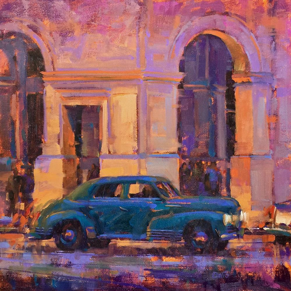 """Havana Nights"" original fine art by Carl Dalio"