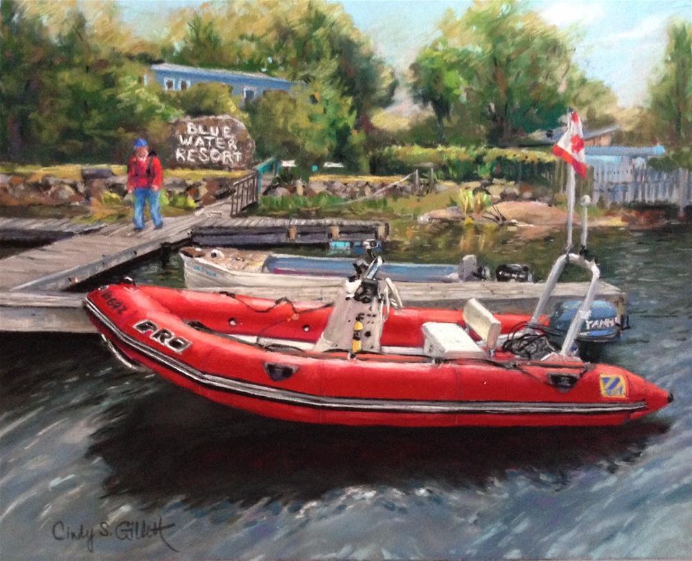 """Little Red - Commission"" original fine art by Cindy Gillett"