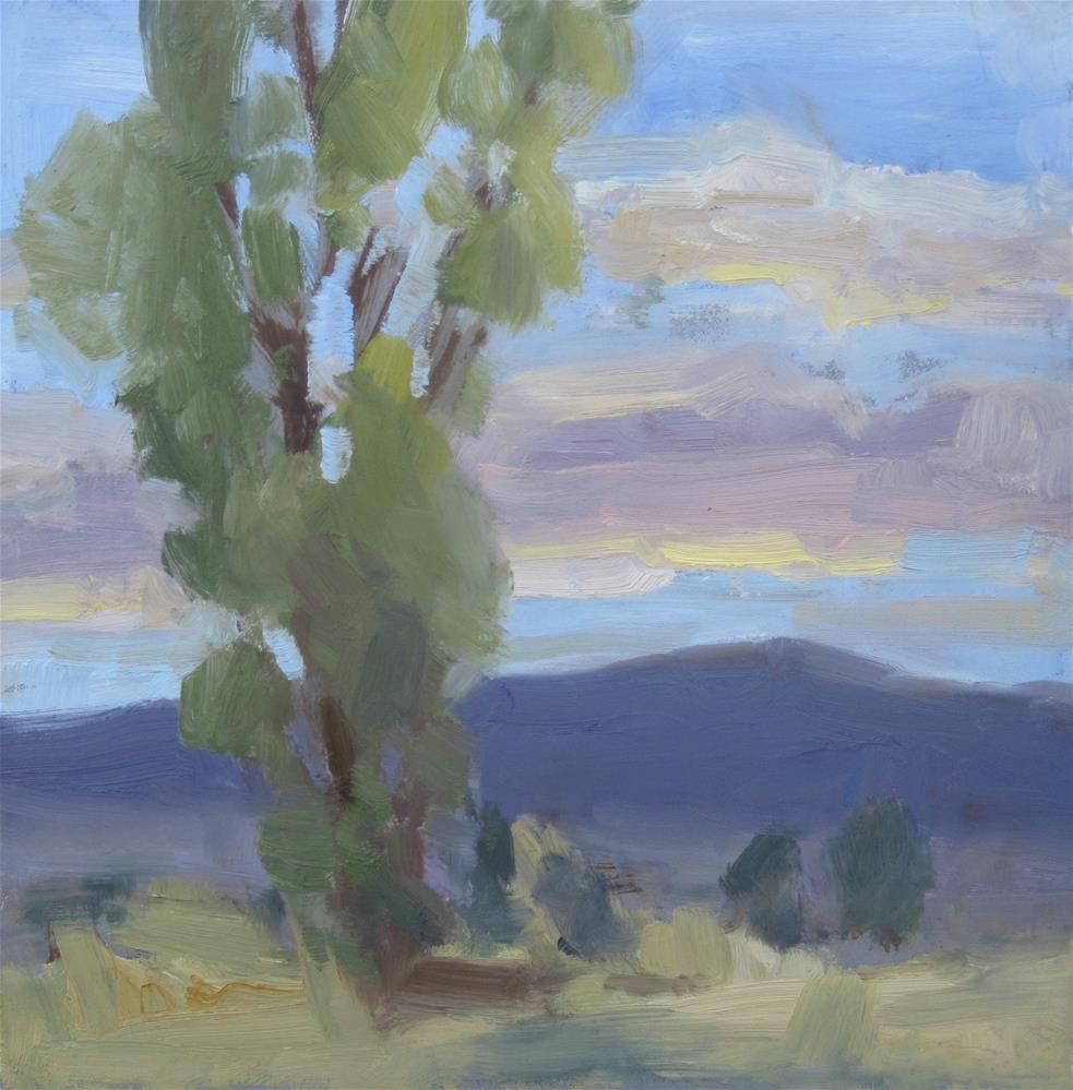 """Sunset 4"" original fine art by Carol Johansen"