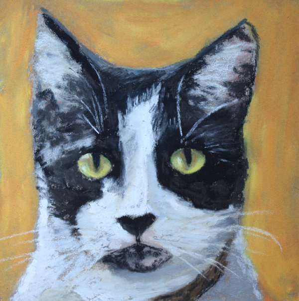 """Harriett"" original fine art by Jane Frederick"