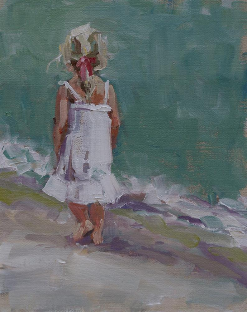 """delicate"" original fine art by Carol Carmichael"