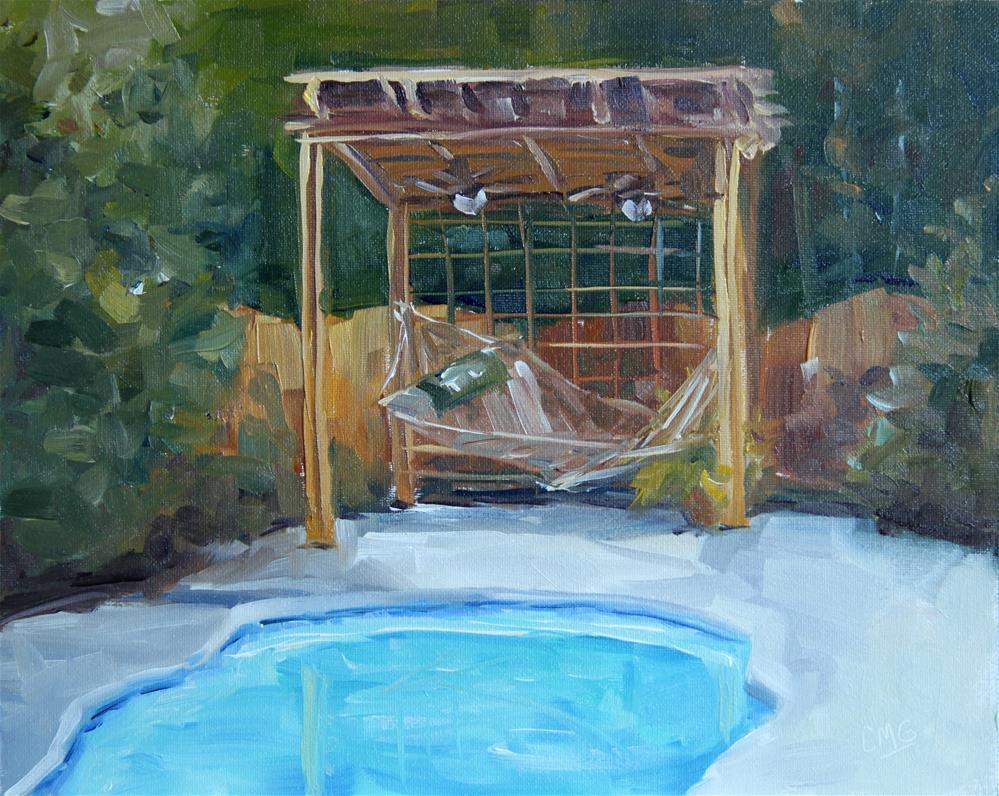 """A Piece of Heaven"" original fine art by Cindy Greene"