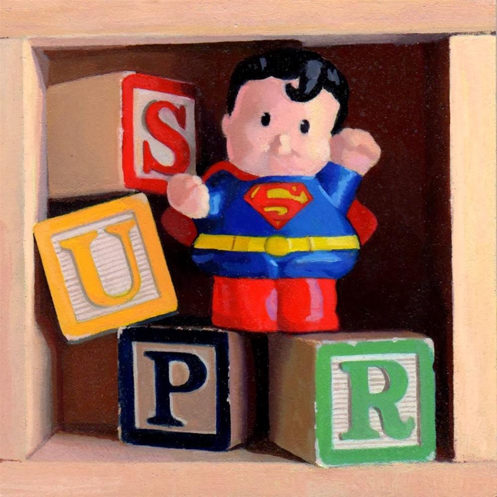 """#353 Just SUPR"" original fine art by Brian Burt"