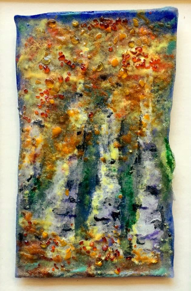 """""""Aspen Glow"""" original fine art by Kristen Dukat"""