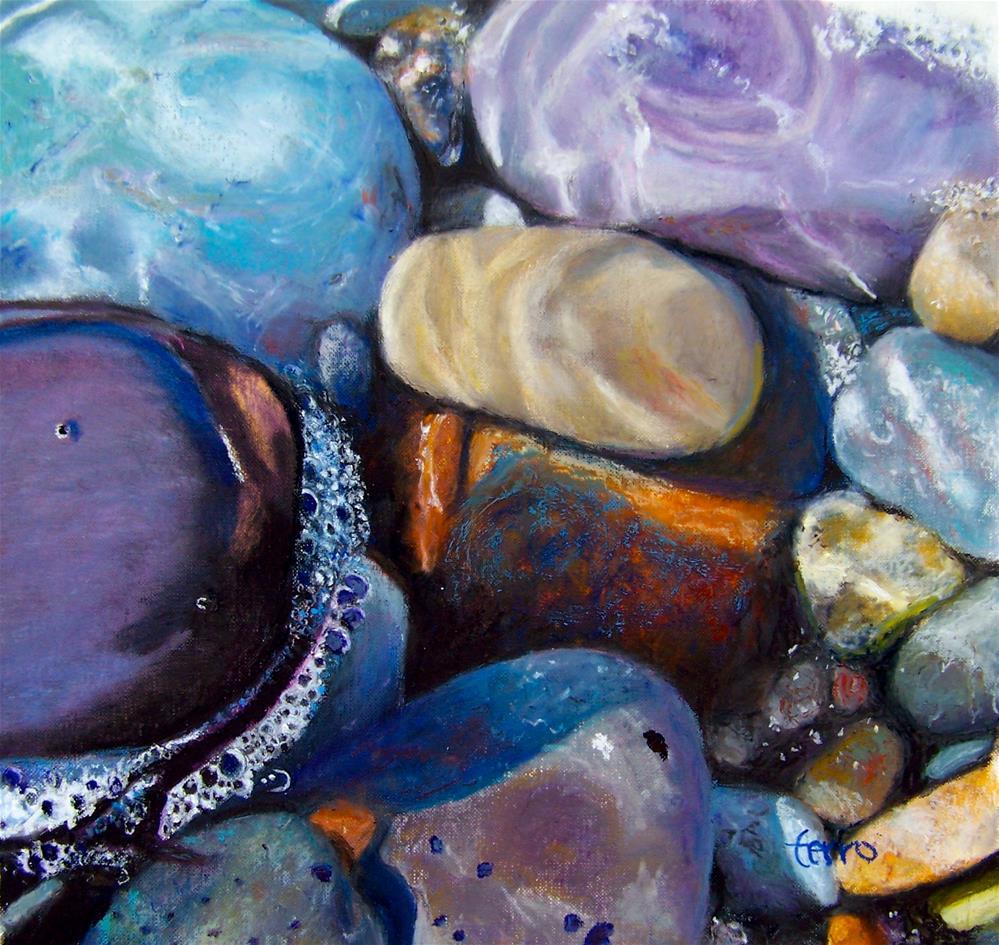 """""""Low Tide Allure"""" original fine art by Susan Ferro"""