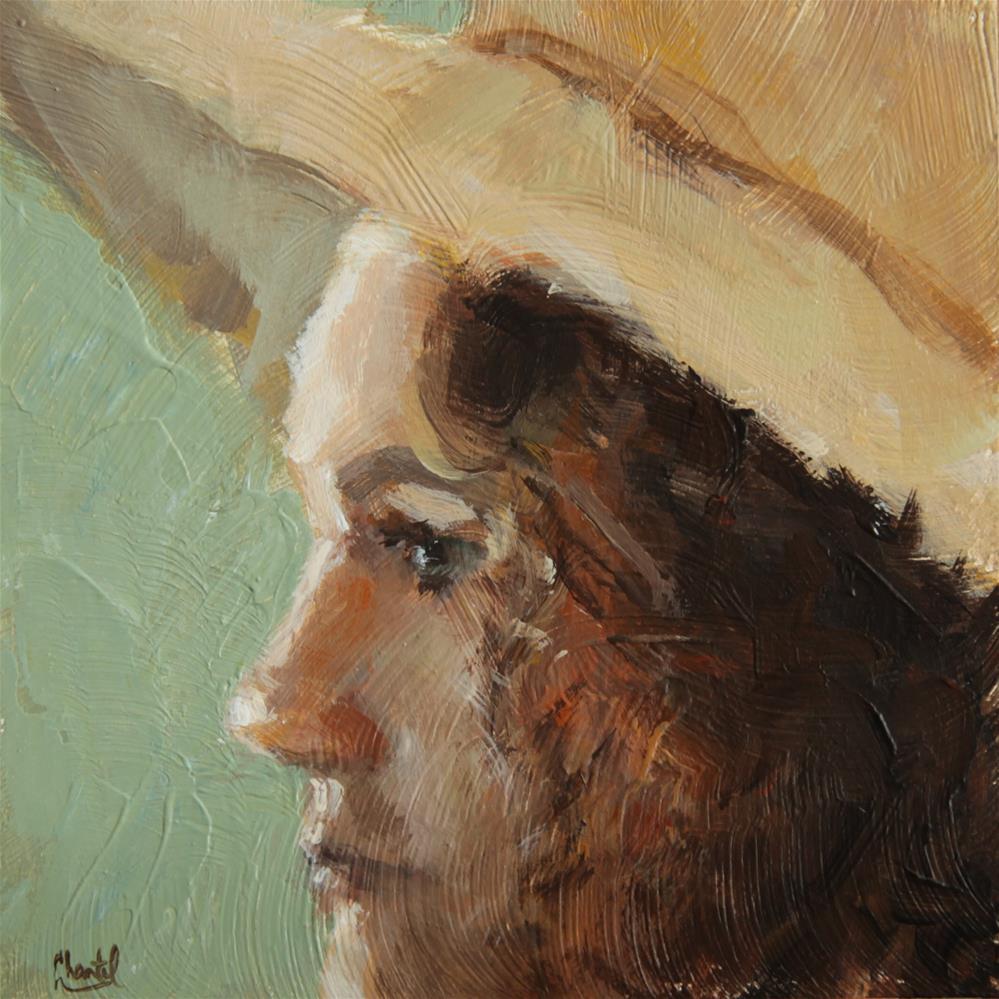 """""""The Artist"""" original fine art by Chantel Barber"""