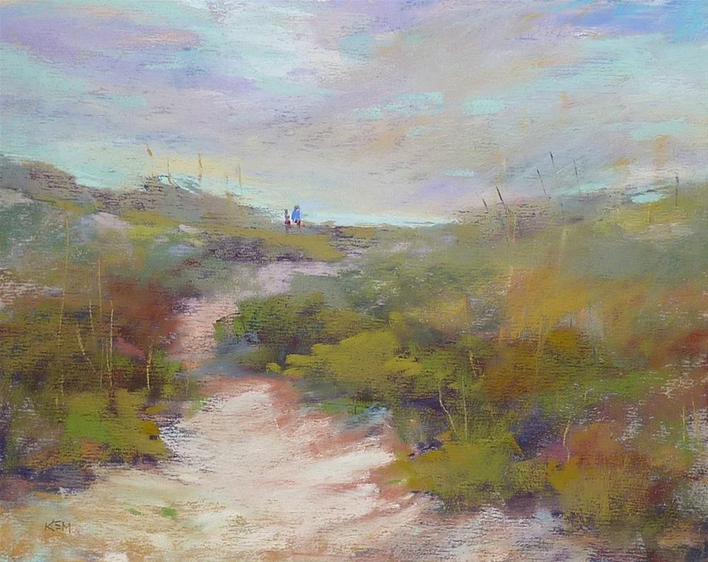 """""""Outer Banks on my Mind"""" original fine art by Karen Margulis"""