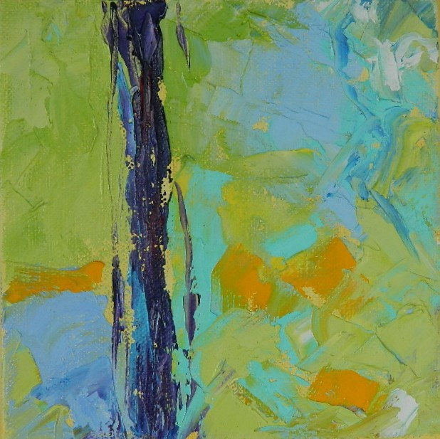 """Abstract #1"" original fine art by Gloria Urban"