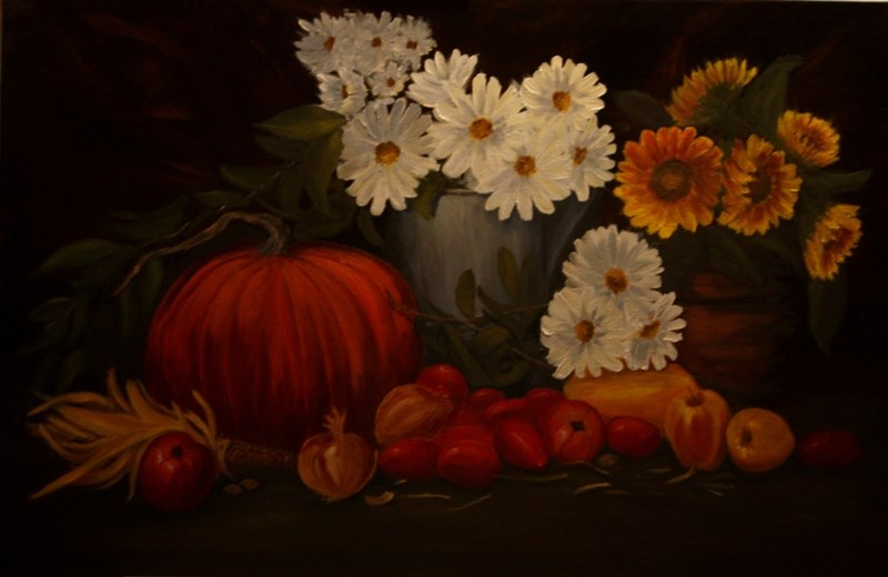 """Harvest"" original fine art by Mary Datum"
