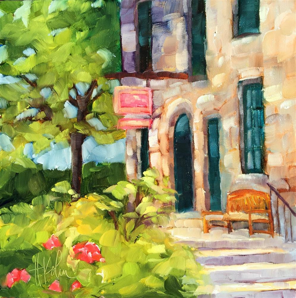 """Yountville"" original fine art by Hallie Kohn"
