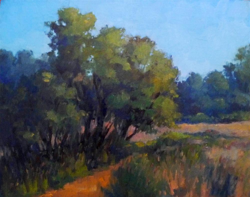"""A Perfect Day for a Hike"" original fine art by Lisa Kyle"