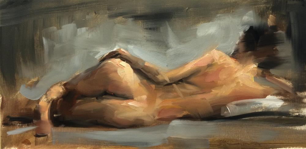 """Figure Study"" original fine art by Thomas Ruckstuhl"