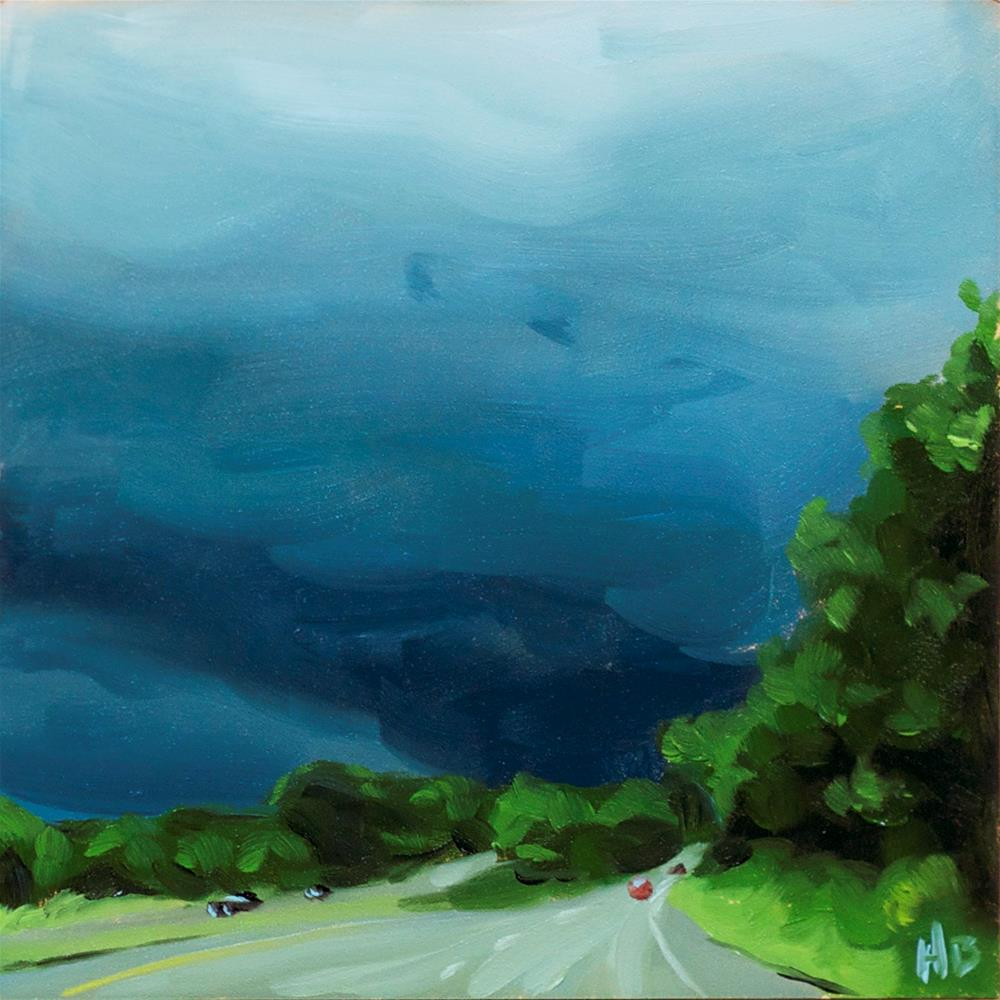"""Into the Storm"" original fine art by Heather Bullach"