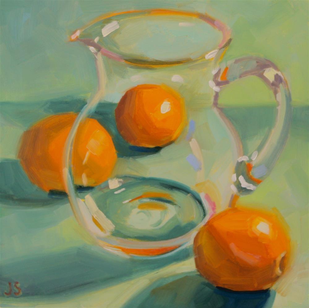 """""""Thru the Glass"""" original fine art by Jamie Stevens"""