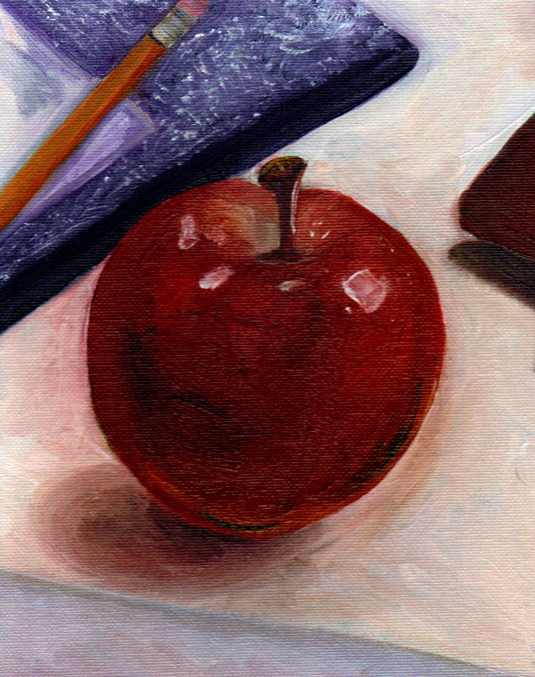 """""""back to school"""" original fine art by Kristen Dukat"""