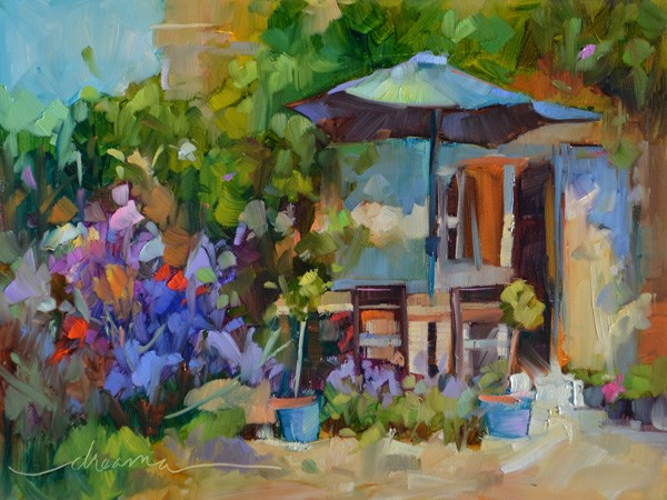 """Sunny Days in France and Keepers of the Beauty!"" original fine art by Dreama Tolle Perry"