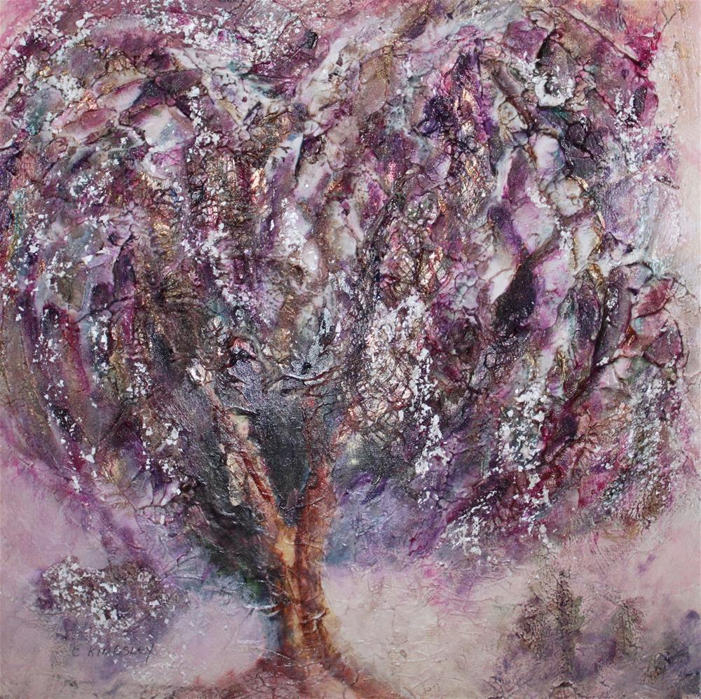 """""""My Heart is Like a Tree"""" original fine art by Christiane Kingsley"""