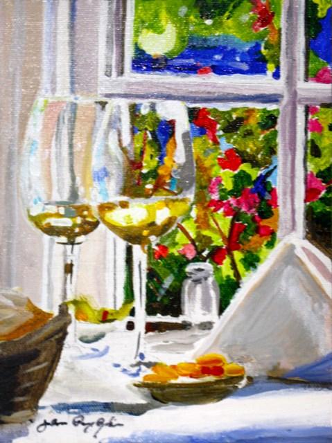 """Date Night"" original fine art by JoAnne Perez Robinson"