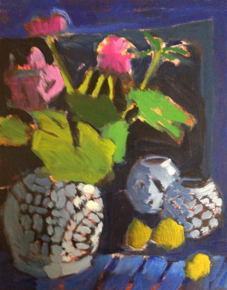 """""""It's Not A Dark Night of the Soul"""" original fine art by Pamela Hoffmeister"""