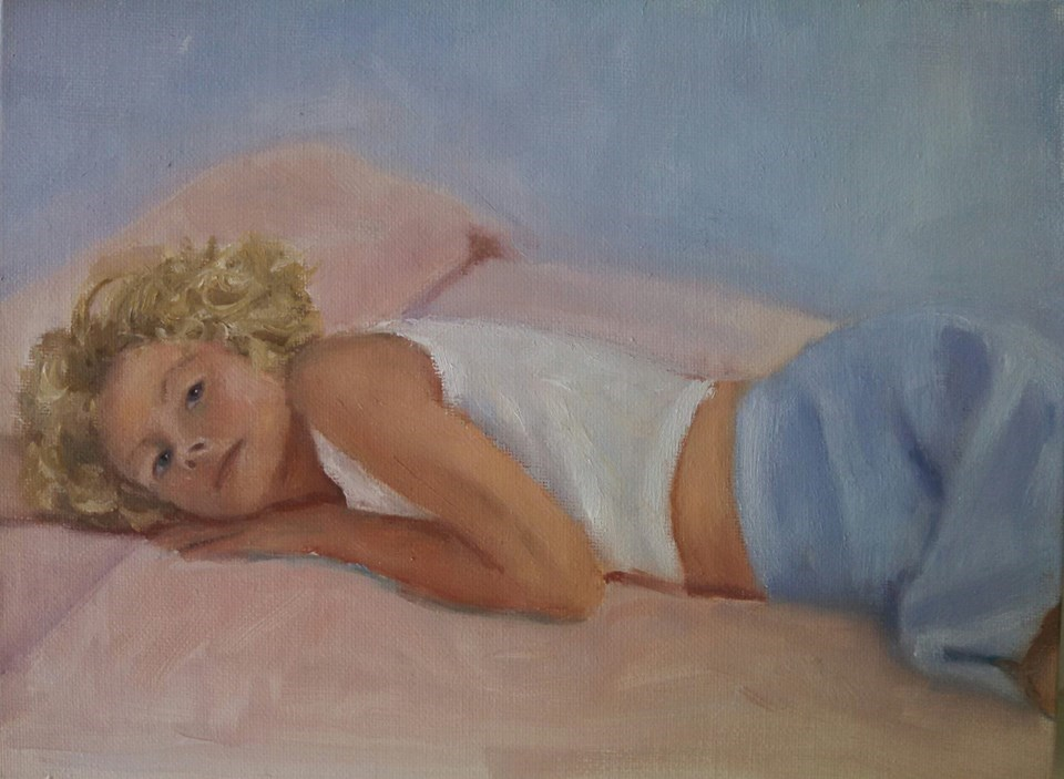 """Rest"" original fine art by Cheri Sperl"