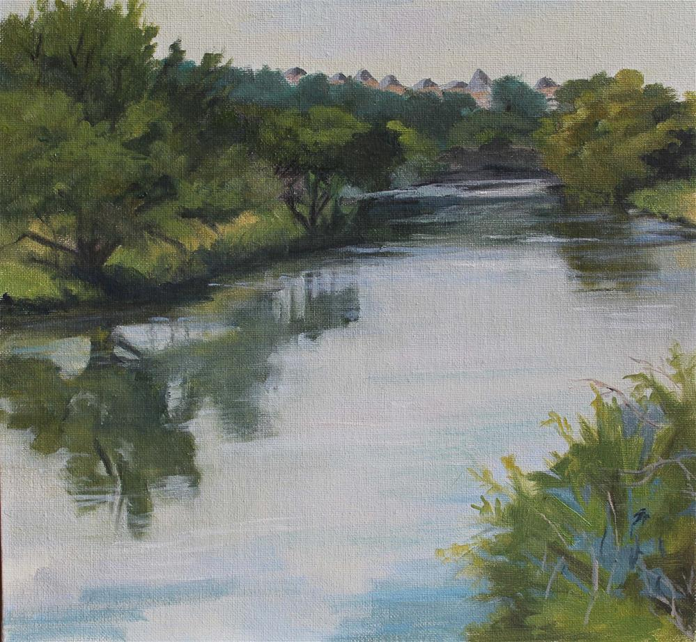 """Brushy Creek lake"" original fine art by Susan Andersen"