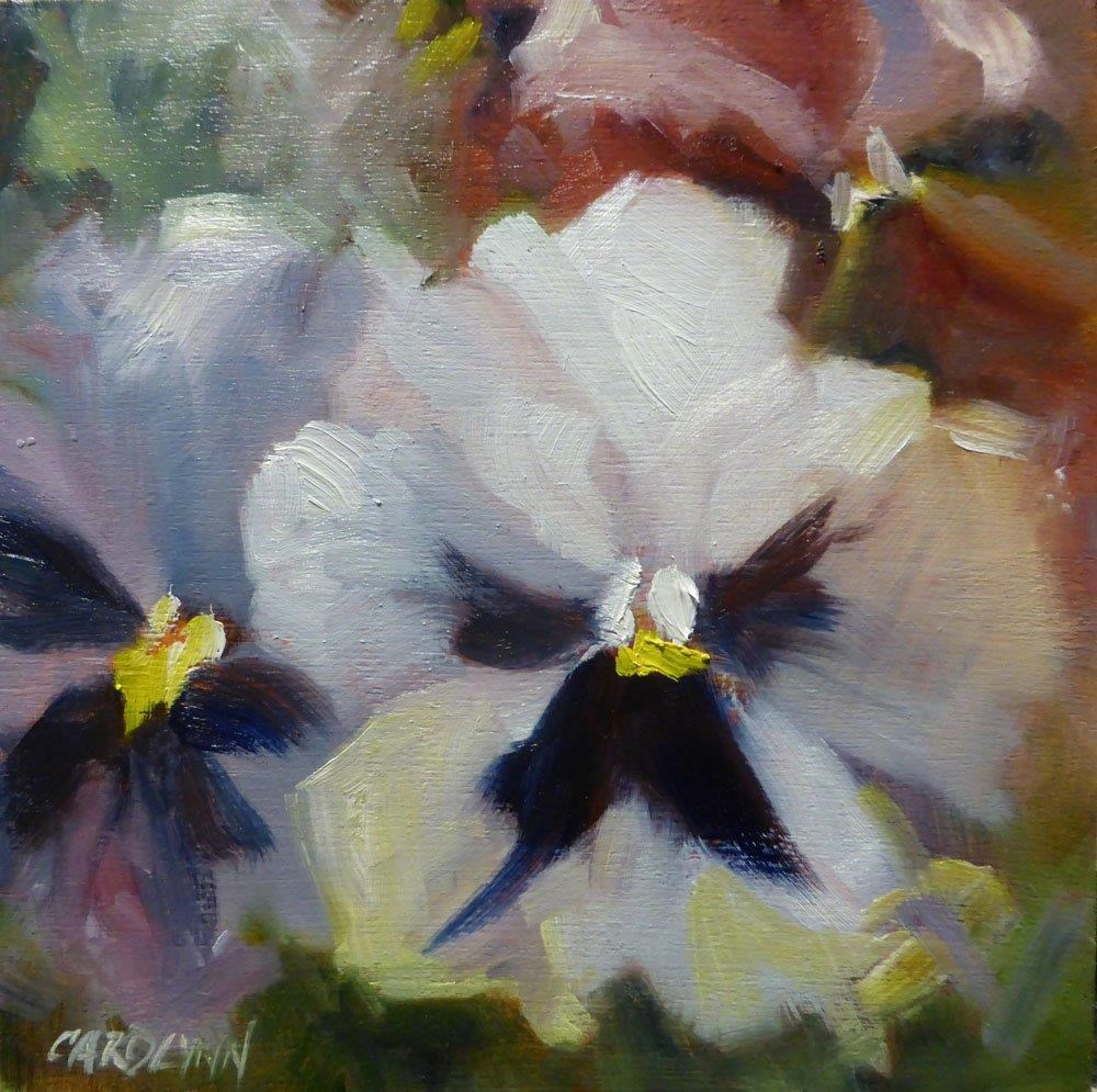 """""""Spring Faces"""" original fine art by Carolynn Doan"""