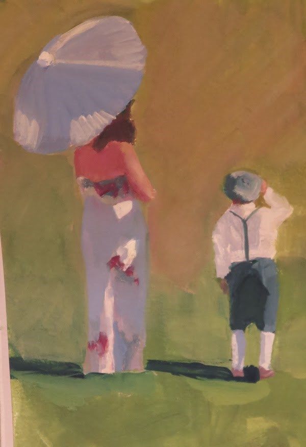 """Waiting for the Wedding"" original fine art by Katharine Engh"