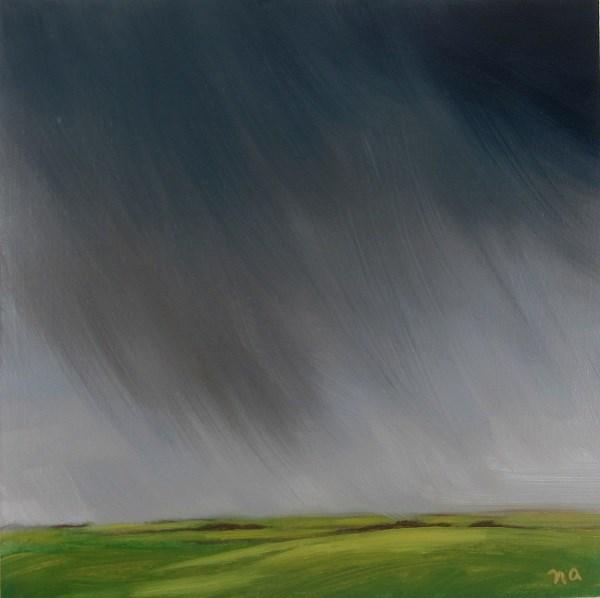 """""""Downpour"""" original fine art by Nicki Ault"""