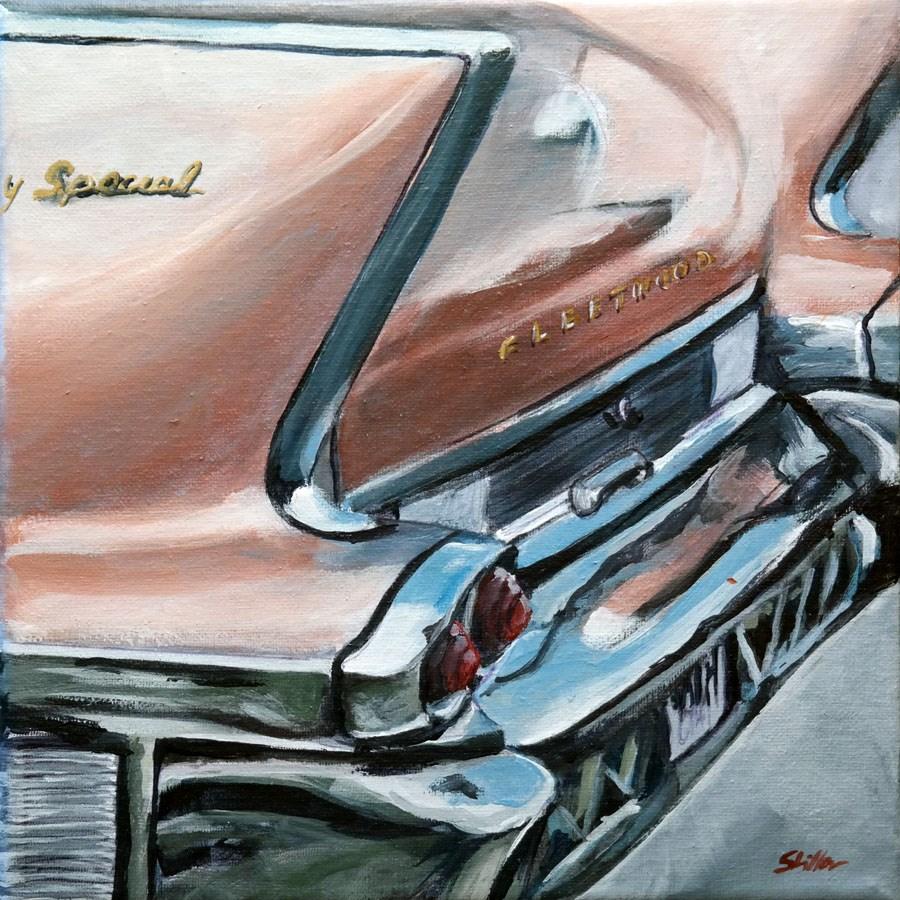 """1630 Cadillac Fleetwood Sixty Special"" original fine art by Dietmar Stiller"