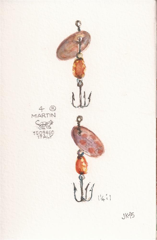 """4 MARTIN"" original fine art by Jean Krueger"