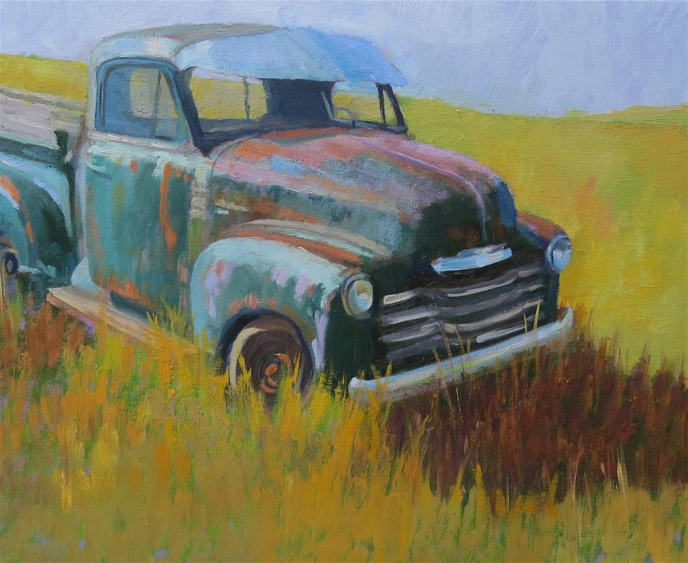 """Hasn't Been Used In A While"" original fine art by Pam Holnback"