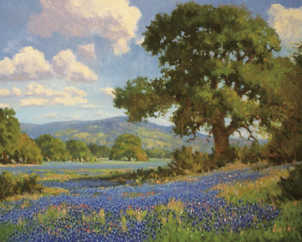 """Spring Near Bandera"" original fine art by David Forks"