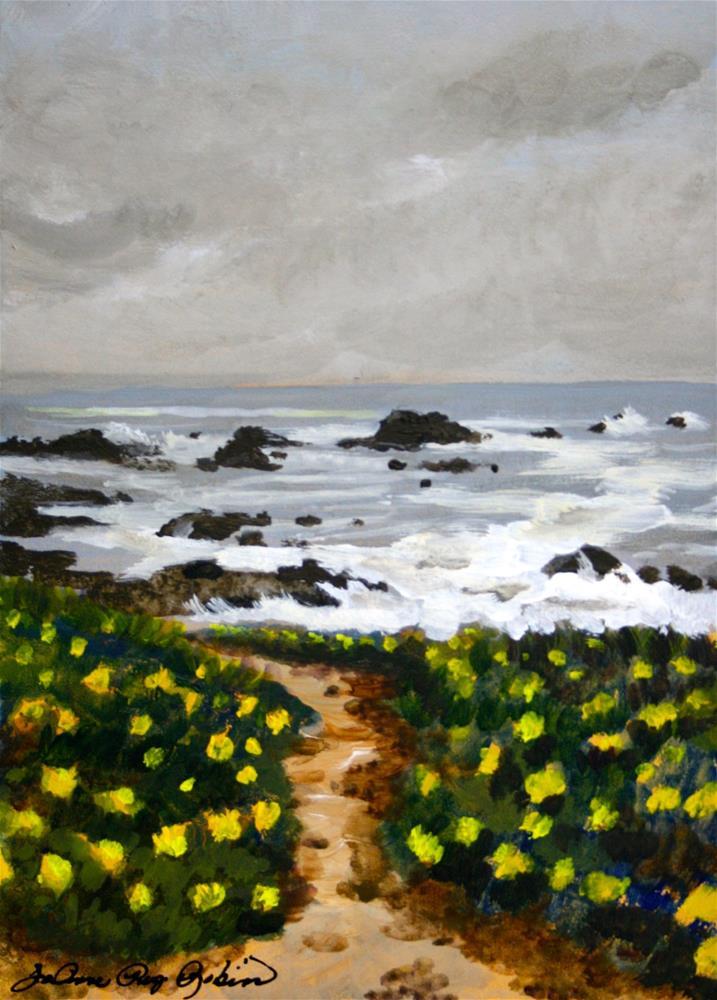 """""""Overcast"""" original fine art by JoAnne Perez Robinson"""