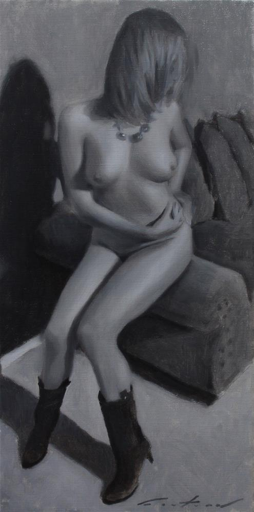 """""""Nude Study"""" original fine art by Phil Couture"""