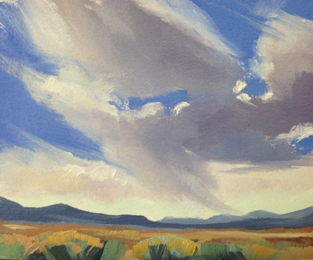 """Valley Storms 3"" original fine art by Mary Jabens"