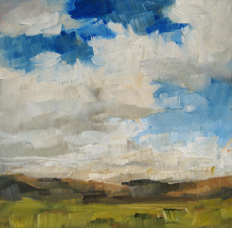 """Open Sky"" original fine art by Melanie Thompson"
