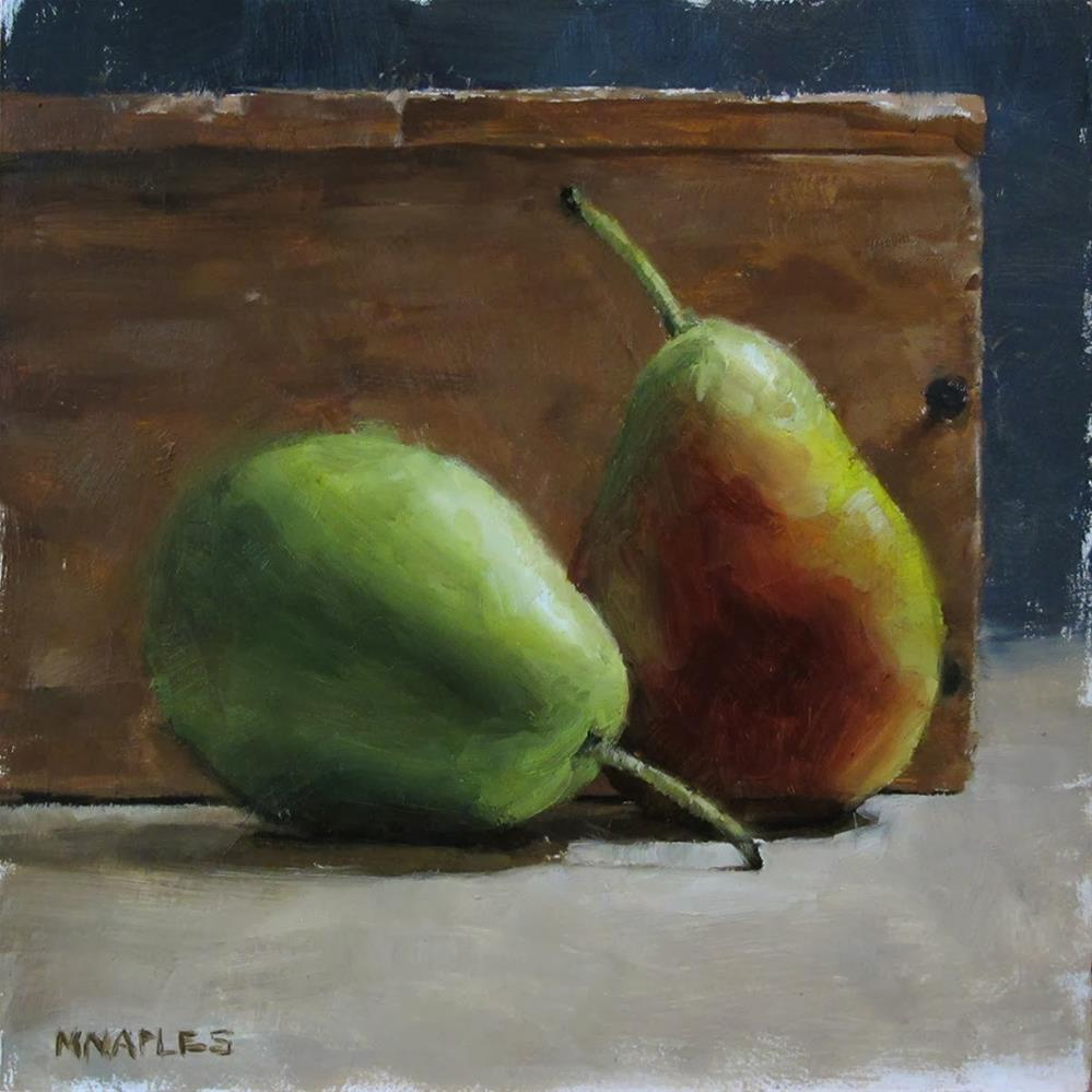 """Complimentary Pair"" original fine art by Michael Naples"