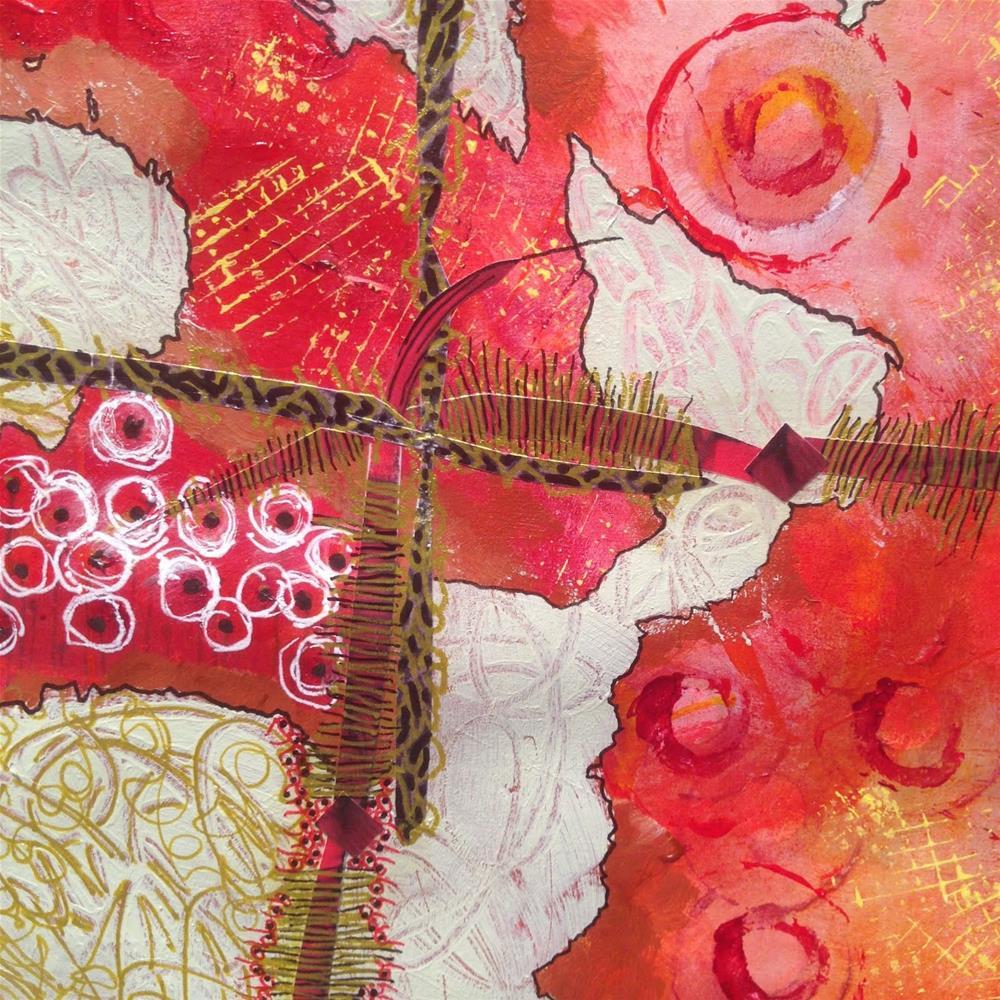 """""""Paper Prayer 35"""" original fine art by Dotty  Seiter"""