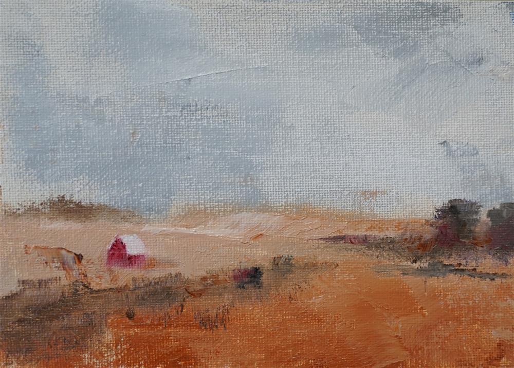 """""""Distance 1"""" original fine art by Catherine Van Berg"""