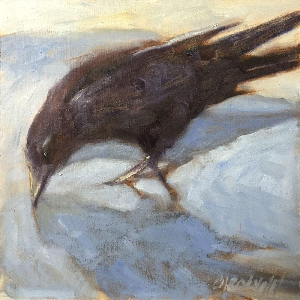 """Today's Reflection"" original fine art by Carolynn Doan"
