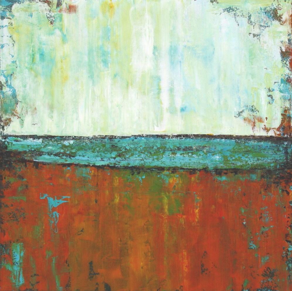 """Salt Water Sea"" original fine art by Sage Mountain"