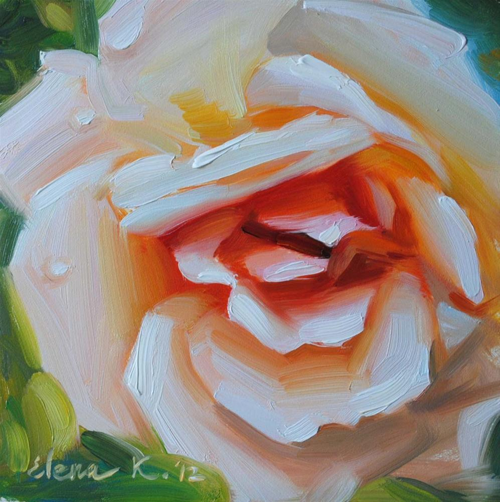 """Biltmore Estate Rose"" original fine art by Elena Katsyura"