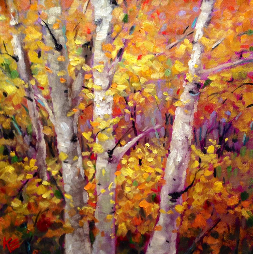 """Autumn's Song"" original fine art by Krista Eaton"