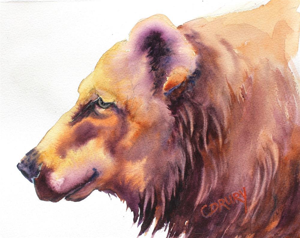 """Barney"" original fine art by Colleen Drury"
