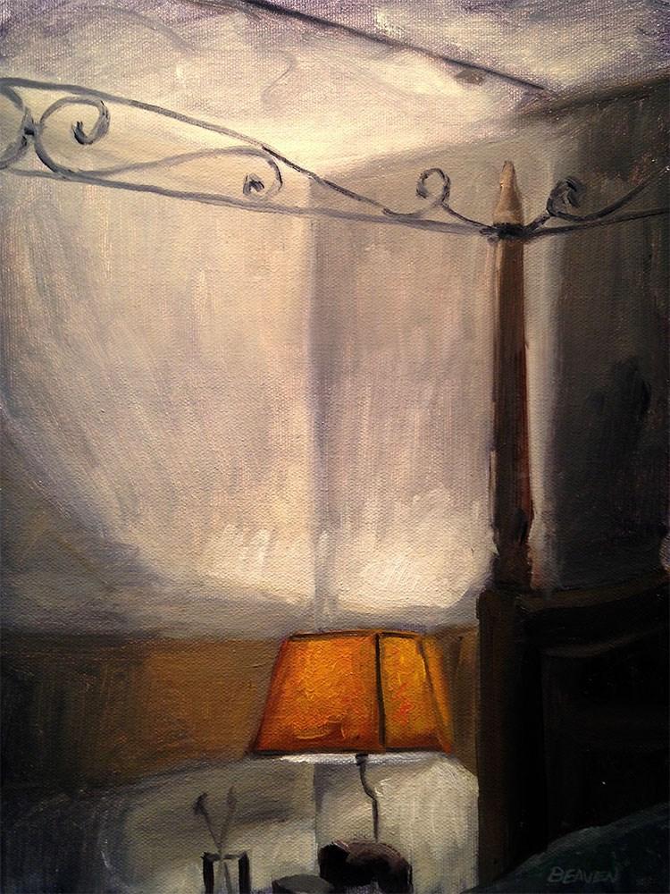 """Bedroom Interior"" original fine art by Chris Beaven"
